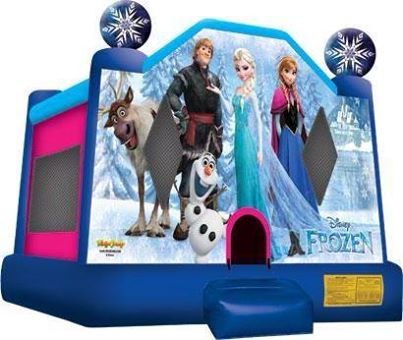 Frozen Bounce House Rental West Springfield Massachusetts